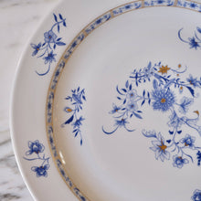 "Load image into Gallery viewer, Bernardaud ""Pekin"" Blue and White Round Serving Platter - La Porte Bonheur"