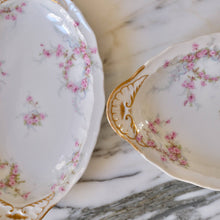 Load image into Gallery viewer, Haviland Pink Floral Serving Dish - La Porte Bonheur