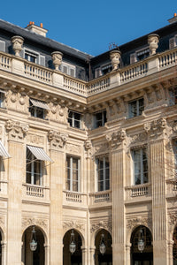 Palais Royal Spring Light - Paris Photography - La Porte Bonheur