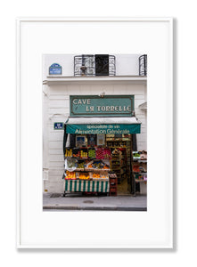 Rue de Seine Fruits and Vegetables - Paris Print - La Porte Bonheur