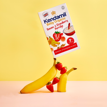 Load image into Gallery viewer, Organic Banana & Strawberry Baby Porridge 150g