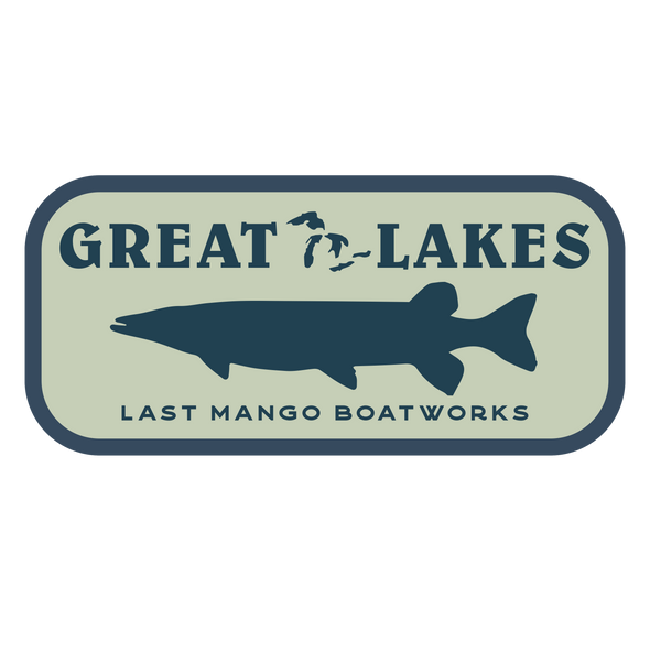 The Last Mango™️ Great Lakes Sticker