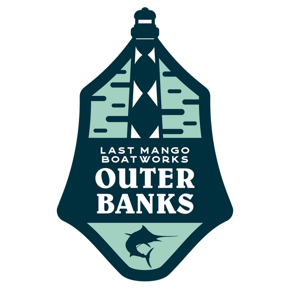 Last Mango™️ Outer Banks Sticker