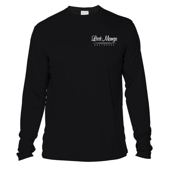 "Last Mango™️ ""The Captain"" Black Performance Long Sleeve"