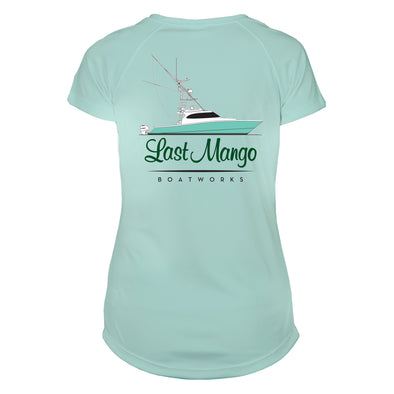 Last Mango™️ Women's Seafoam Performance Short Sleeve