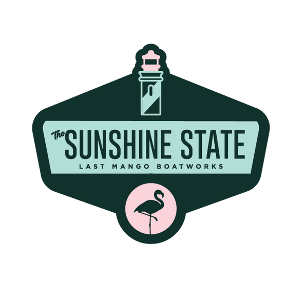 The Last Mango™️ The Location Collection Sunshine State Sticker
