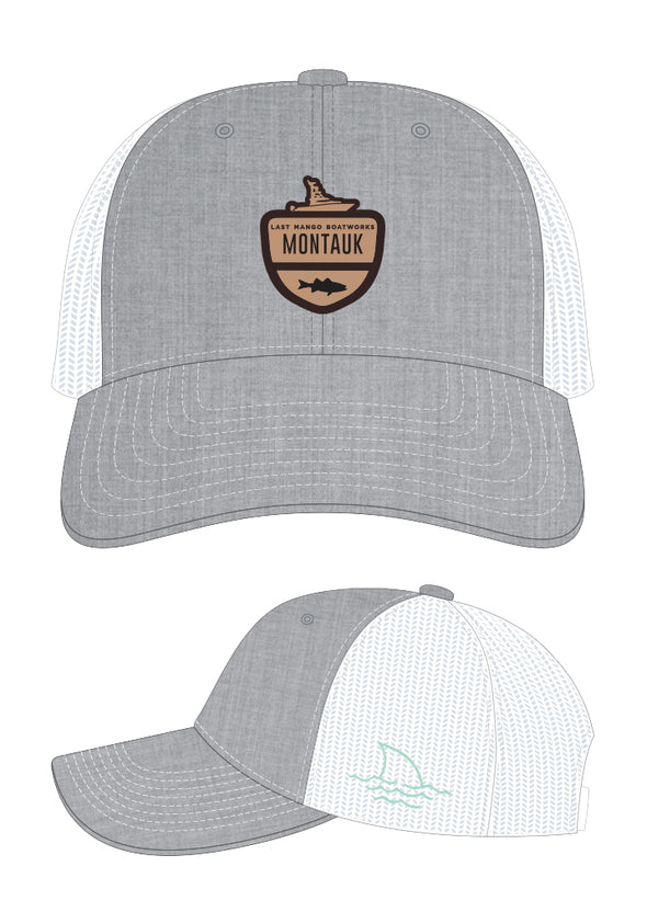 Last Mango™️ The Location Collection Montauk Trucker Hat