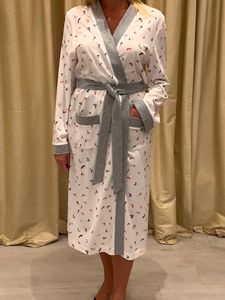 Robe in 100% Cotton