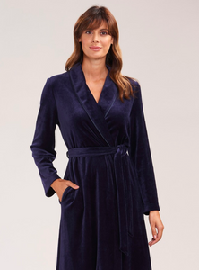 Robe in Night Blue