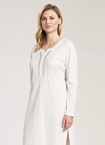 Nightshirt with satin details