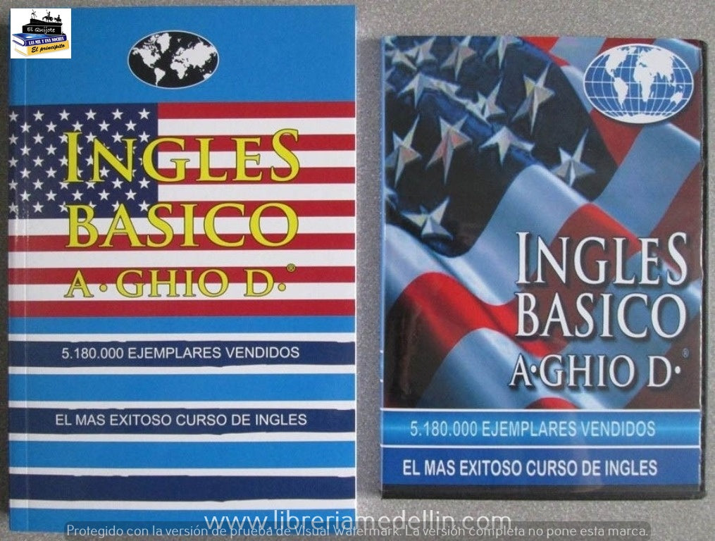 KIT INGLES BASICO CON CD