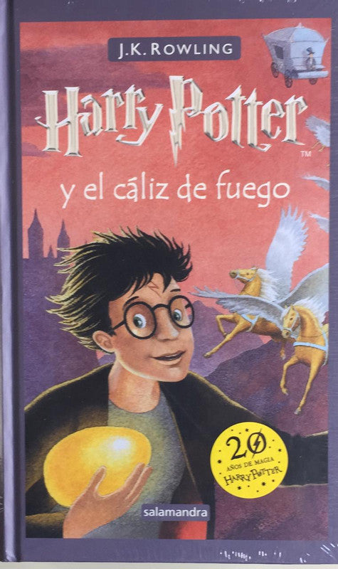 HARRY POTTER Y CALIZ DE FUEGO 4