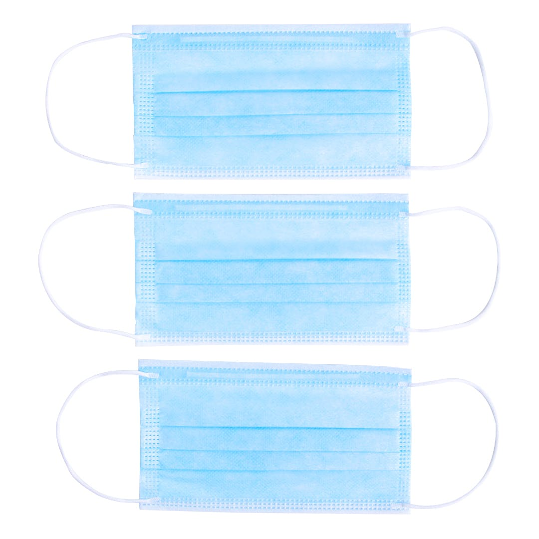 Premium Disposable Masks - Case of 2000 - 99% Filtration