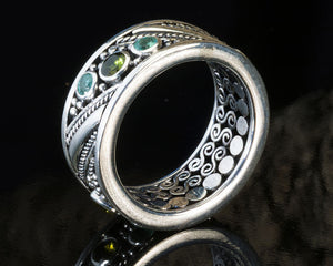 Timor Ornate Silver Ring