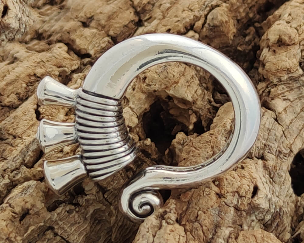 Mountain Tribes Silver Ring
