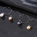 Silver Drop Earring with Natural Freshwater Pearl - Best Online Prices by Jewellery Supermarket