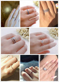 Nice Classical Multicolor AAA+ Cubic Zirconia Wedding Ring - Best Online Prices