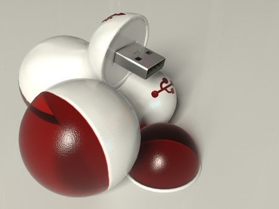 Ball USB flash drives