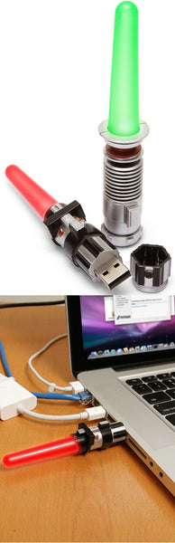 Lightsaber Flash Drive from Japan