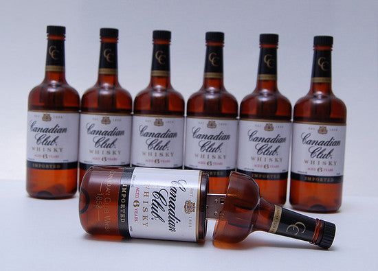 Canadian Club Bottle Thumb Drive