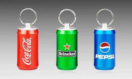 Canned Drink USB Keychain
