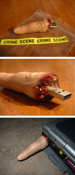 "Spooky USB ""Thumb Drives"""