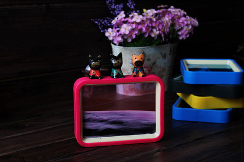 Moving Sand Art Picture Frame 7"
