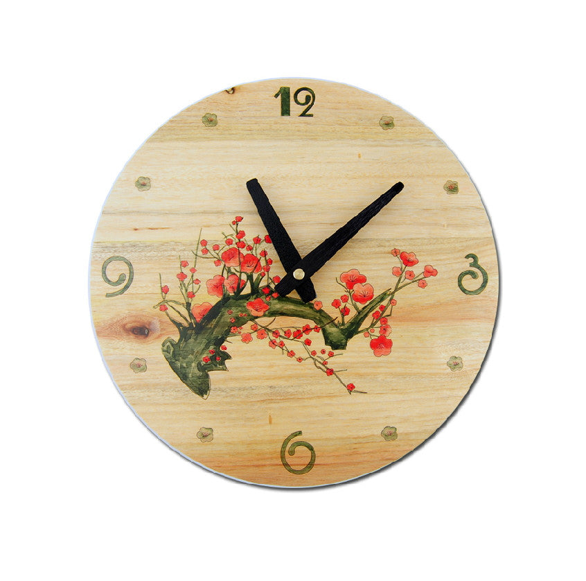 Wood Decorative Wall Clock 12\