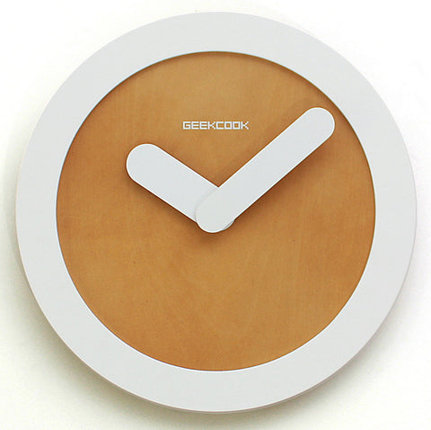 Minimalist Wall Clock Zero 12"