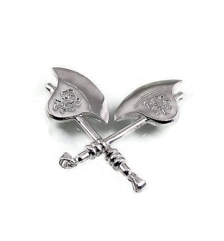 Statement Silver Axe Pendant Vintage Large Charm at Wholesale Price - 1PROY Driftwood & Healing Stones