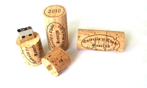 Wine Cork Flash Drive 8gb 16gb 32gb | Handcrafted USB Gizmos Gadgets