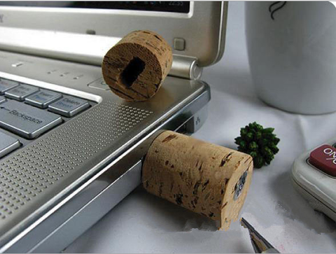 Wine cork usb drive 8gb 16gb 32gb