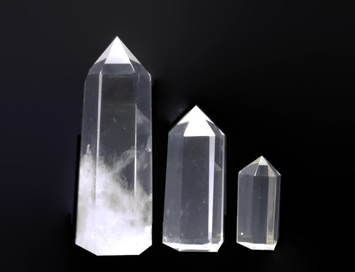 Crystal Points Large Single Terminated Wholesale Lot | Healing Crystals Supplies - 1PROY Driftwood & Healing Stones