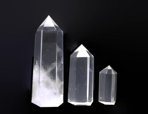 Crystal Points Large Single Terminated Wholesale Lot | Healing Crystals Supplies