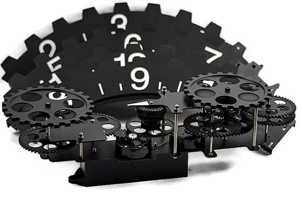 Extra Large Industrial Quot Hands Free Quot Gear Wall Clock Wall