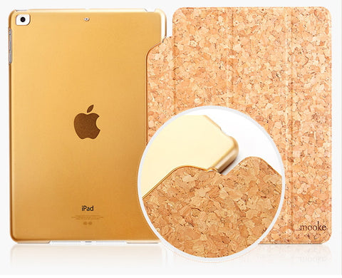 Unique Cork Slip Cover Case iPad Air 5 | Cheap Handmade Wood Accessories