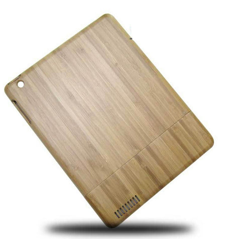 Handcrafted Wood iPad 4 Protective Case | Unique Mobile Accessories - 1PROY Driftwood & Healing Stones
