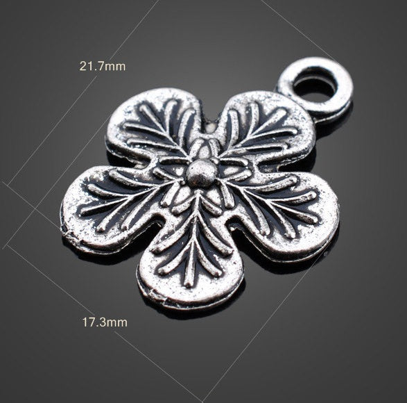Vintage Flower Charms - Medium | Wholesale Pendants Supplies - 1PROY Driftwood & Healing Stones