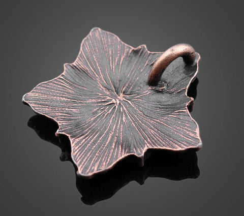 Wholesale Bronze Flower Pendants - Vintage | Jewelry Making Charms - 1PROY Driftwood & Healing Stones