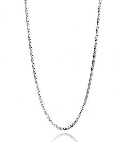 "18"" Sterling Silver 925 Snake Chain Fine Gauge 45cm 