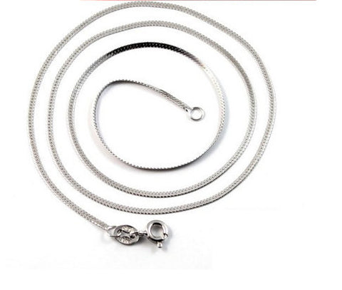 "45cm Sterling Silver Snake Chain 18"" Fine to Medium Gauge Wholesale"
