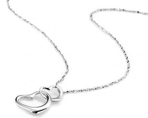Infinite Heart Silver Pendant | Valentines Charms Wholesale Supplies