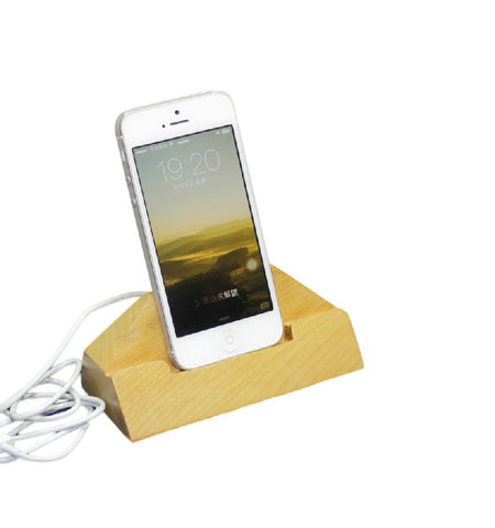 Wood iPad Stand | Docking Station | Handcrafted iPad Accessories