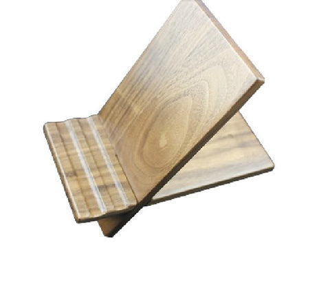 Joint Wood iPad Stand | Tablet Docking Stations for Samsung | iPhone | iPad etc. - 1PROY Driftwood & Healing Stones