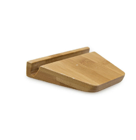 Handcrafted Bamboo Phone Stand | Docking Station for iPad Samsung, iPhone