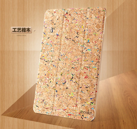 Cork iPad Air Case | Slip Cover | Handcrafted iPad Accessories - 1PROY Driftwood & Healing Stones