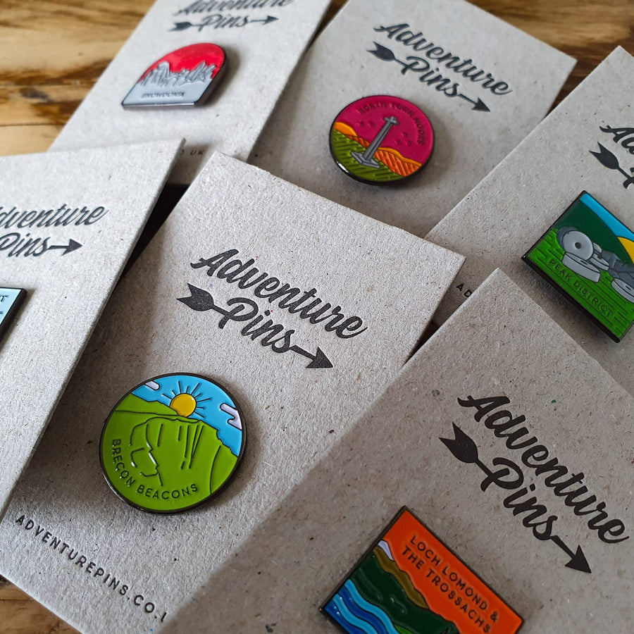 National Park Pins bundle - save 30%