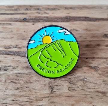Brecon Beacons pin