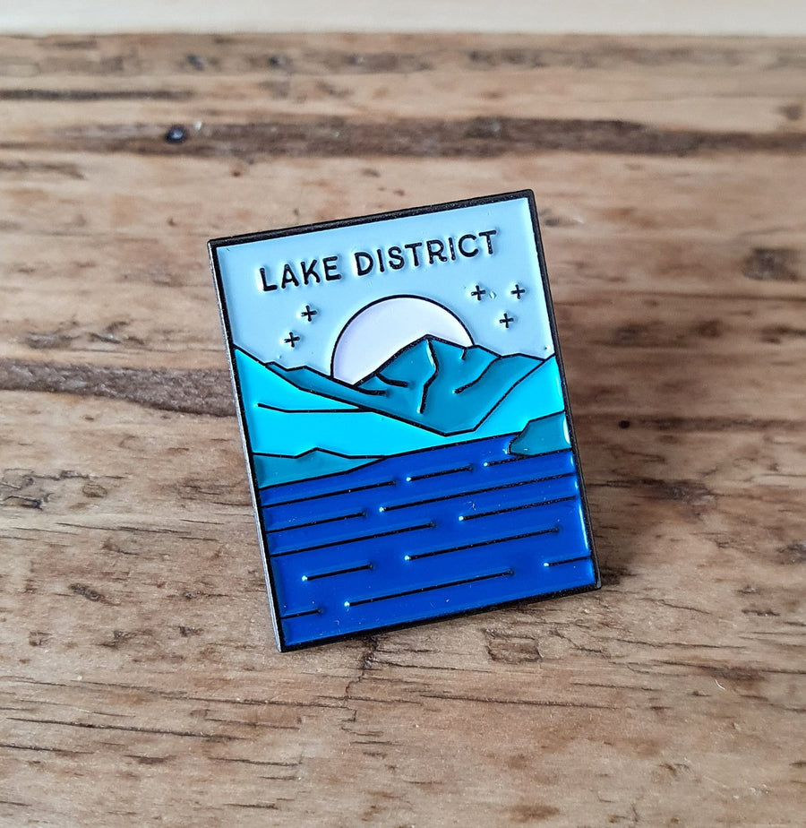 Lake District pin