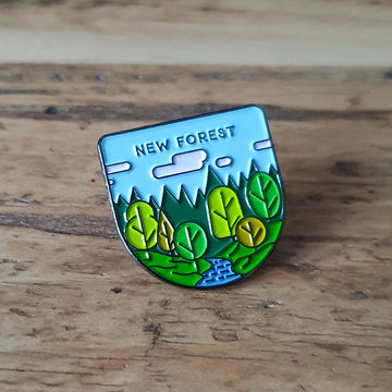 New Forest pin